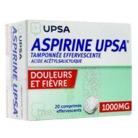 ASPIRINE UPSA TAMPONNEE EFFERVESCENTE 1000 mg, comprimé effervescent à Auterive