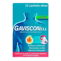 Gavisconell Suspension Buvable Sachet-dose Menthe Sans Sucre 12sach/10ml à Auterive