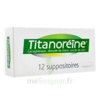 TITANOREINE Suppositoires B/12 à Auterive