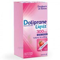 DOLIPRANELIQUIZ 300 mg Suspsion buvable en sachet sans sucre édulcorée au maltitol liquide et au sorbitol B/12 à Auterive