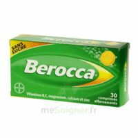 Berocca Comprimés effervescents sans sucre T/30 à Auterive