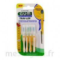 Gum Trav - Ler, 1,3 Mm, Manche Jaune , Blister 4 à Auterive