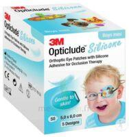 Opticlude Design Boy Pansement Orthoptique Silicone Mini 5x6cm à Auterive