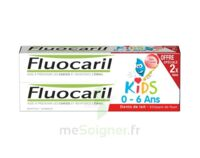 Fluocaril Kids Gel dentifrice Fraise 0/6ans 2*50ml à Auterive