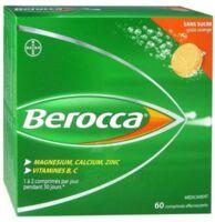 Berocca Comprimés effervescents sans sucre T/60 à Auterive