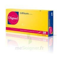 Oligosol Lithium Solution Buvable En Ampoule Ou En Récipient Unidose 28amp/2ml à Auterive