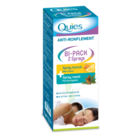 Quies Bi-pack 2 Sprays Buccal Et Nasale Anti-ronflement à Auterive