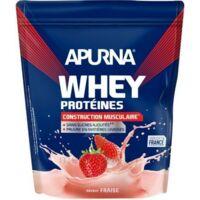 Apurna Whey Proteines Poudre Fraise 750g à Auterive