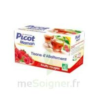 Picot Maman Tisane d'allaitement Fruits rouges 20 Sachets à Auterive