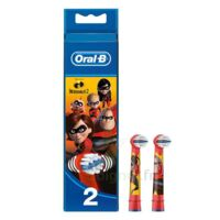 Oral B Incredibles 2 Brossette kids Blister/2 à Auterive