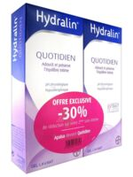 Hydralin Quotidien Gel lavant usage intime 2*200ml à Auterive