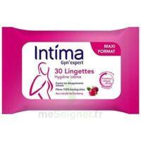 Intima Gyn'expert Lingettes Cranberry Paquet/30 à Auterive