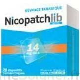 NICOPATCHLIB 14 mg/24 h Dispositifs transdermiques B/7 à Auterive