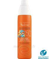 Avène Eau Thermale Solaire Spray Enfant 50+ 200ml à Auterive