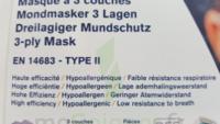 Masque à usage unique à Auterive