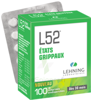 Lehning L52 Comprimés Orodispersibles Plq Pvc/pvdc/alu/100 à Auterive