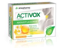 Activox Sans Sucre Pastilles Miel Citron B/24 à Auterive