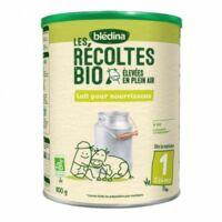 Blédina Les Récoltes Bio 1 Lait En Poudre B/800g à Auterive