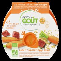 Good Goût Alimentation Infantile Boeuf Carottes Orge Perlé Assiette/220g à Auterive