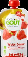 Good Goût Alimentation infantile fraise banane Gourde/120g à Auterive