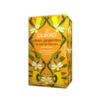 Pukka Bio Citron, Gingembre Et Miel De Manuka Tisane Immunité Citron Gingembre Miel De Manuka 20 Sachets à Auterive