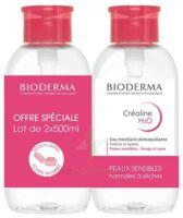 CREALINE H2O Solution micellaire nettoyante apaisante sans parfum 2Fl pompe inversée/500ml à Auterive