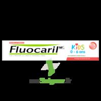 Fluocaril Kids Dentifrice Fraise 0-6 Ans T/50ml à Auterive