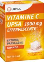 Vitamine C Upsa Effervescente 1000 Mg, Comprimé Effervescent à Auterive