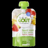 Good Goût Alimentation Infantile Brassé Avoine Fraise Banane Gourde/90g à Auterive