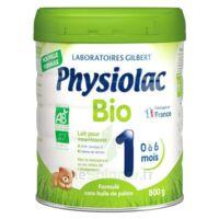 Physiolac Bio 1 Lait En Poudre B/800g à Auterive